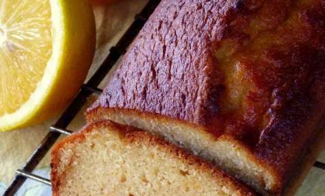 Cake à l'orange très moelleux
