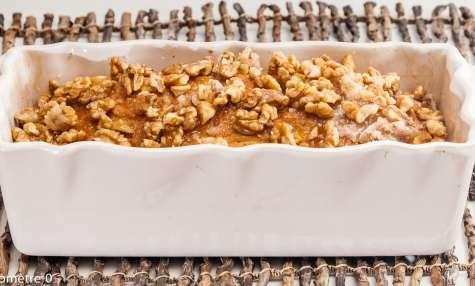 Cake aux noix caramélisées