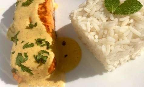 Pavés de saumon rôtis aux épices sans lactose