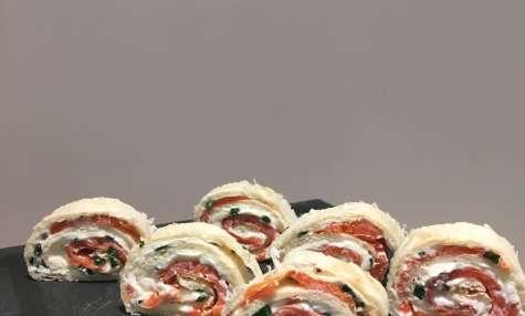 Tortilla de saumon