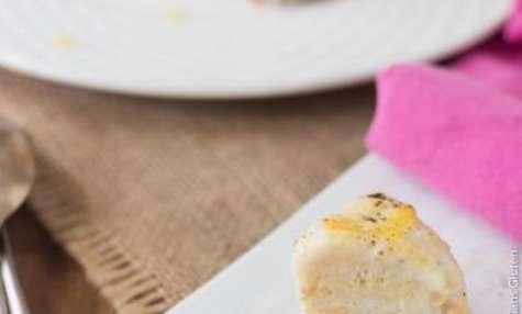 Cheesecake vegan au citron et à la mangue