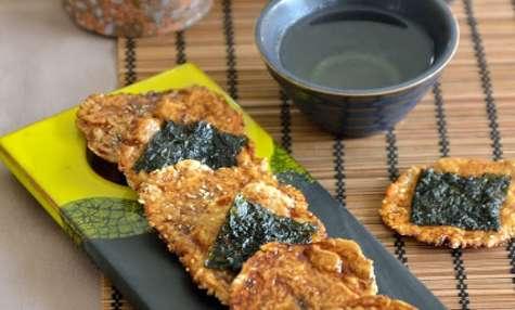 Senbei, des crackers japonais au riz