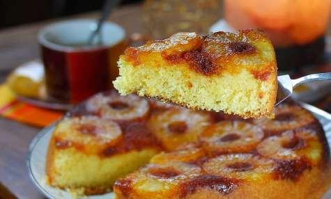 Gâteau à l'ananas traditionnel pour toute la famille