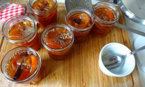 Chutney d'oranges amères
