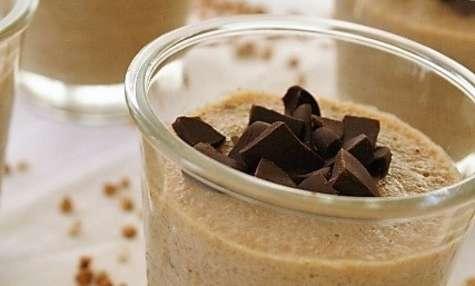 Crème de sarrasin au café