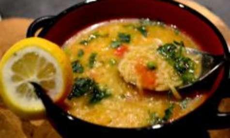 Soupe de riz aux légumes