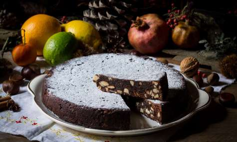 Panforte de Sienne aux fruits secs