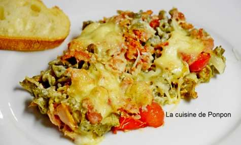 Gratin de pâtes au thon - La cuisine de Ponpon: rapide et facile!