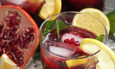 Mocktail grenade, rose & citron
