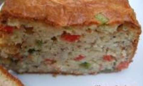 Cake Poivrons / Crevettes
