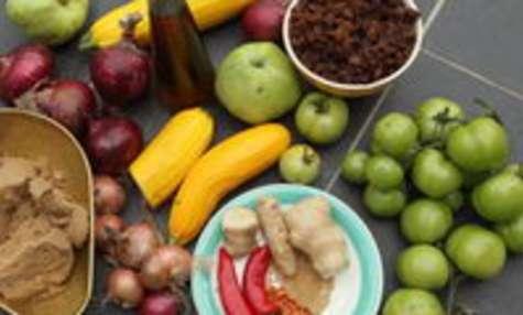 Chutney pomme mangue