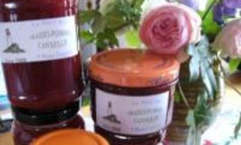 Confiture fraises/pommes à la cannelle