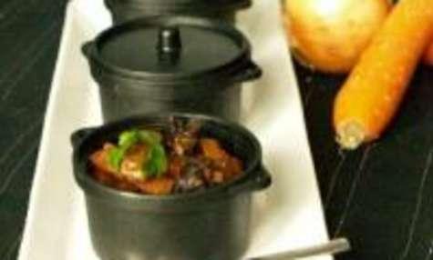 Mini Cocottes de Ragoût de Joues de Boeuf