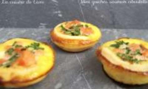 Mini-Quiches Saumon / Ciboulette