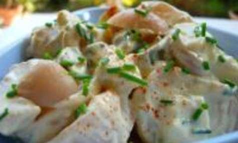 Salade de Pommes de Terre Sauce Ravigote