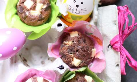 Muffin choco de Pâques
