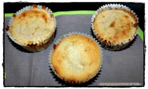 muffins pêche-cannelle