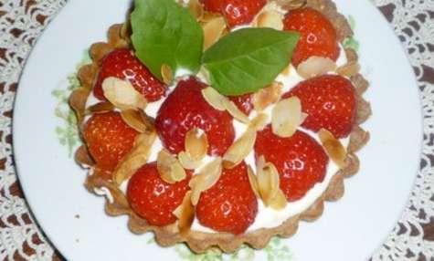 Tarte aux fraises au mascarpone