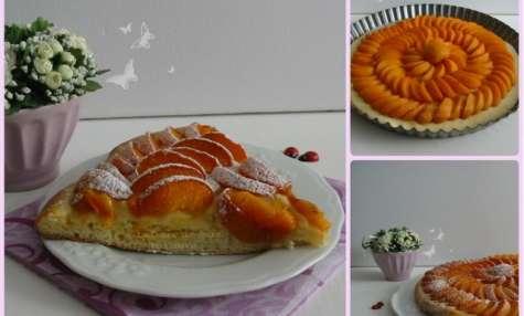 Tarte fine briochée aux Abricots