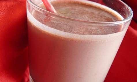 Milkshake au chocolat (protéiné)