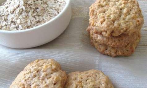 Cookies aux flocons d'avoine et aux carottes