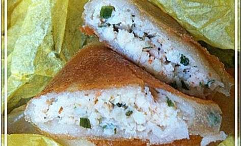 Brick ou samoussa aux crevettes