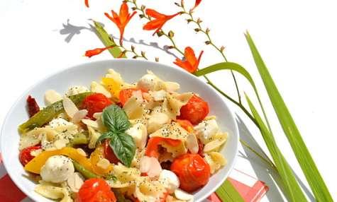 Salade de farfalles au pesto