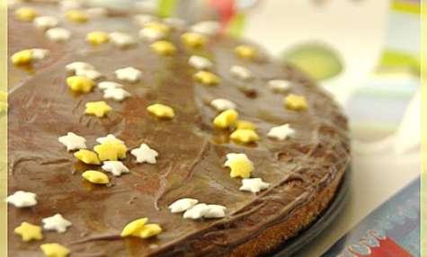 Gâteau moelleux aux pépites de chocolat