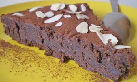 FONDANT CHOCOLAT NOIR ET AMANDES