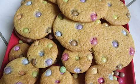 Cookies moelleux aux smarties