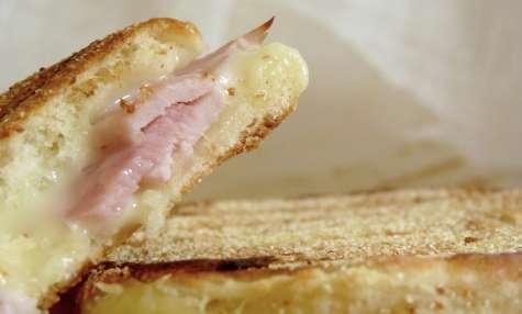 Croque muffin