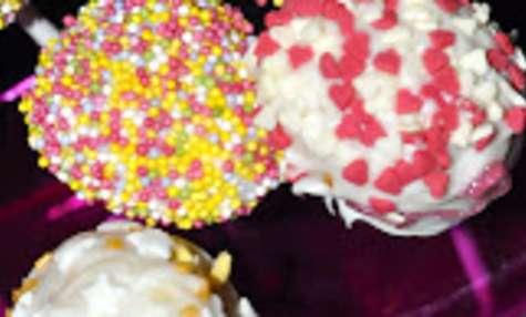 Cake pops vanille/chocolat