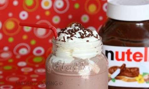 Milk-shake Nutella®-fraises