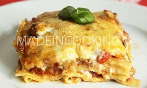 Lasagne bolognaise