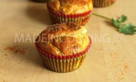 Muffins au chèvre et à la coriandre