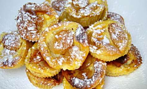 Minis clafoutis aux abricots