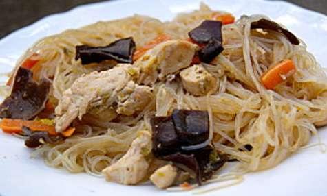 Vermicelles de soja au poulet