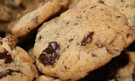 Cookies aux noix pépites de chocolat