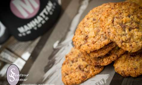 Cookies aux flocons d'avoine et aux pépites de chocolat