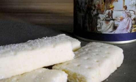 Scottish TeaTime, shortbread fingers