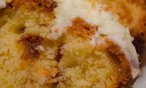 Cake au Carambar et glaçage au Philadelphia