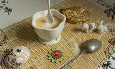 Soupe exotique de panais à la noix de coco