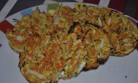 Petites galettes de légumes