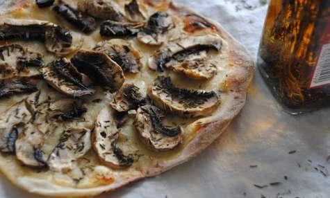 Pizzettes légères aux Champignons