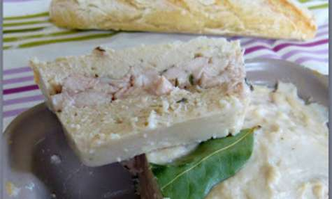 Terrine light aux blancs de poulet
