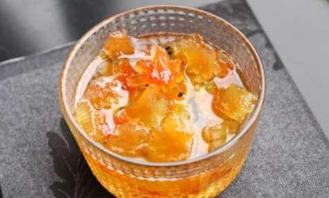 Ecorce de pastèque confite à l'iranienne