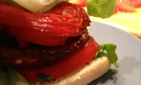 Vegan Burger aux champignons