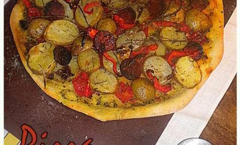 Pizza quand la pomme de terre Primeur voyage