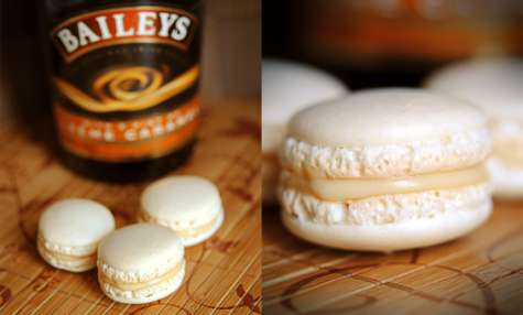 Macarons au Bailey's Caramel