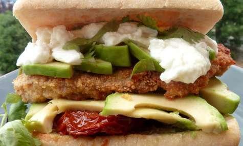 """Le Hamburger Mexicain, façon """"Cemita de Milanesa"""""""